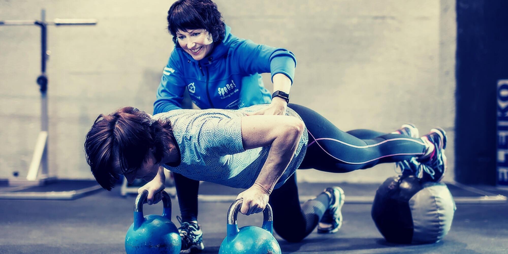 styrketrening med personlig trener